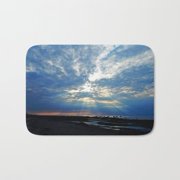 Parting of the Clouds Bath Mat