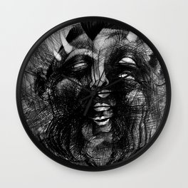 Fat Devil Wall Clock
