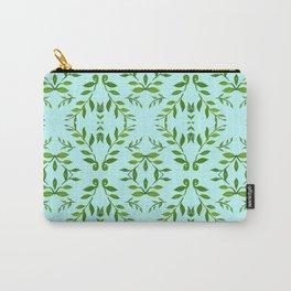 zakiaz holli aqua & green Carry-All Pouch