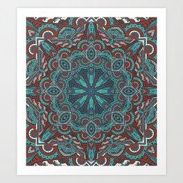 Mandala - Skyward Art Print