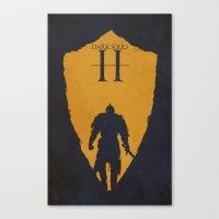dark souls Canvas Prints featuring Dark Souls 2 by FelixT