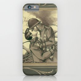 Trench Lovers iPhone Case