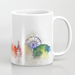 Colorful Stuttgart City Skyline Coffee Mug