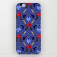 peggy carter iPhone & iPod Skins featuring Agent Peggy Carter: Spying in Style by semisweetshadow