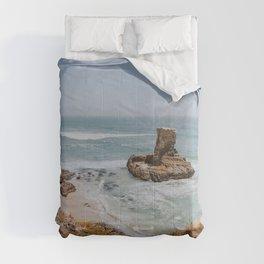 california coast vii / santa cruz, california Comforters