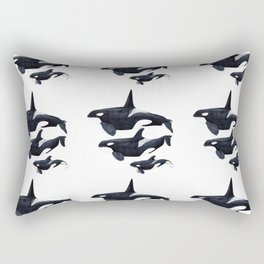 Orca design Rectangular Pillow