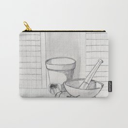 still life with garlic Carry-All Pouch