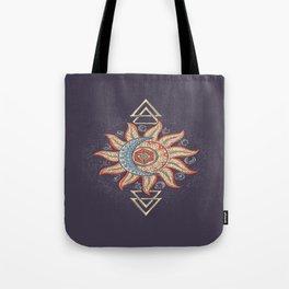 Alchemy magic sign Tote Bag