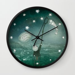 I will bring a star Wall Clock
