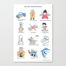 Future Expectations Canvas Print