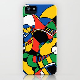 Print #2 iPhone Case