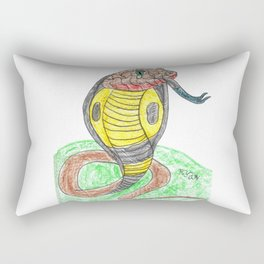Egyptian Cobra Rectangular Pillow