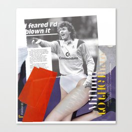 Football Fashion #3 Canvas Print