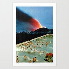 Quantum Leap Space Art Print