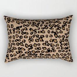 Digital Leopard Rectangular Pillow