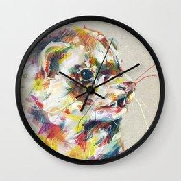 Ferret V Wall Clock