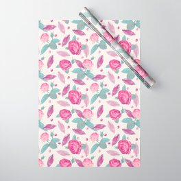 Jewels & Roses Wrapping Paper