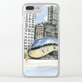 Millennium Park, Chicago Clear iPhone Case