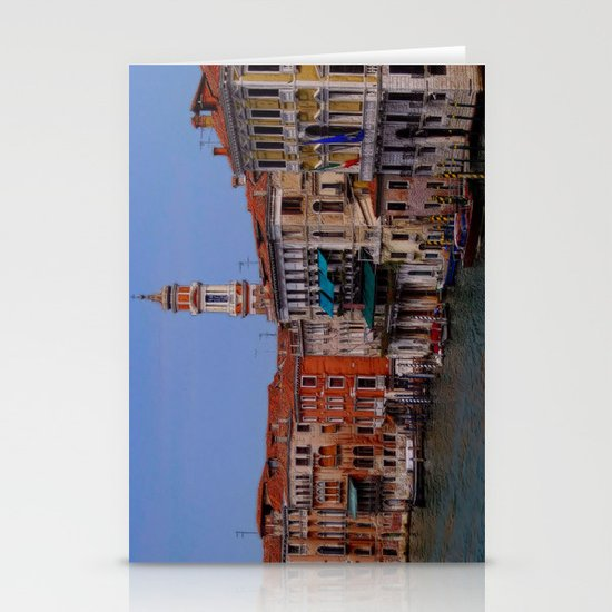 Hotel by a Venice Canal Stationery Cards