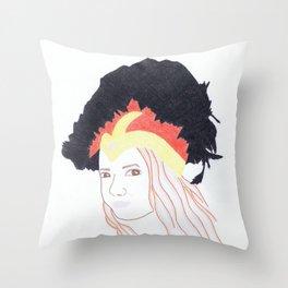 Julia Stone Throw Pillow