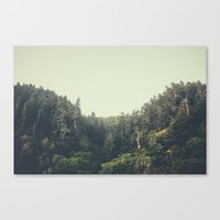 oregon Canvas Prints featuring Oregon by Zachary Snellenberger