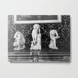 Versailles Statuettes Metal Print