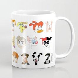 Child of the 90s Alphabet Coffee Mug