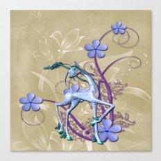 Fantasy Unicorn Art Canvas Print