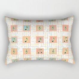 Music notes IV Rectangular Pillow