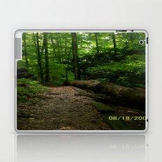 a walk in the woods Laptop & iPad Skin
