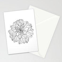 Dahlia 2 Stationery Cards