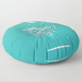 Rainy Night 2 Floor Pillow