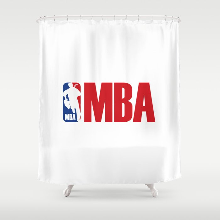 Funny Master Bachelor Shower Curtain