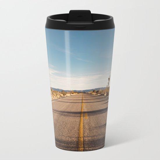 Joshua Tree Road Metal Travel Mug