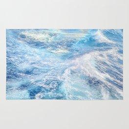 """""""Sea waves"""". High sea.... Rug"""