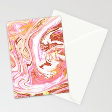 Marble + Rose Gold Dust #society6 #decor #buyart Stationery Cards