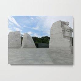 Martin Luther King Memorial Metal Print