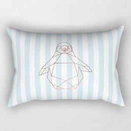 Geometric penguin Rectangular Pillow