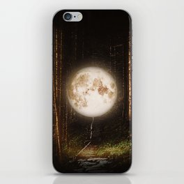 Visiting The Forest iPhone Skin
