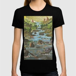 Great Sea Monsters Navigations T-shirt