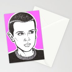 stranger things Stationery Cards