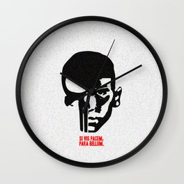 The Punisher Dual - Symbol/Face Wall Clock