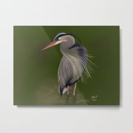 Will Fish For Food Metal Print