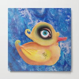 duck amused Metal Print