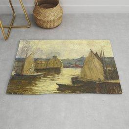 Arthur Clifton Goodwin Gloucester Harbor Rug