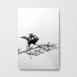 The Warrior Tui Metal Print