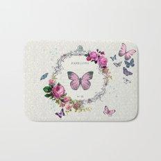 Papillons Bath Mat