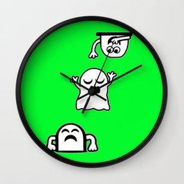 Peek-A-Boos Wall Clock