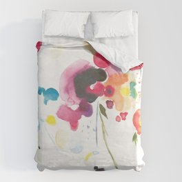 Abstract Bouquet Duvet Cover
