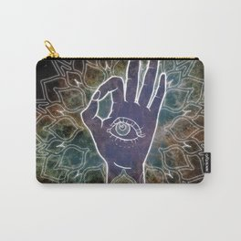 Gyan Mudra Hand Posture Carry-All Pouch